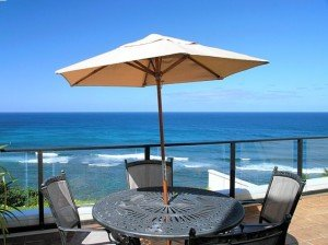 Puu Poa Ocean Front Condo in Princeville North  Shore