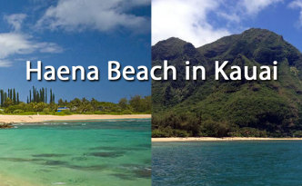 Haena Beach Park in Kauai